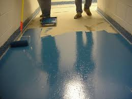 Epoxy floor coatings is our specialty