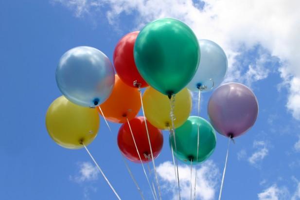 helium gas balloons