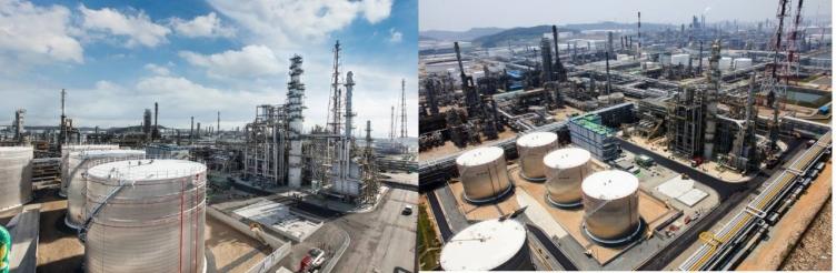 shell hyndai base oil company