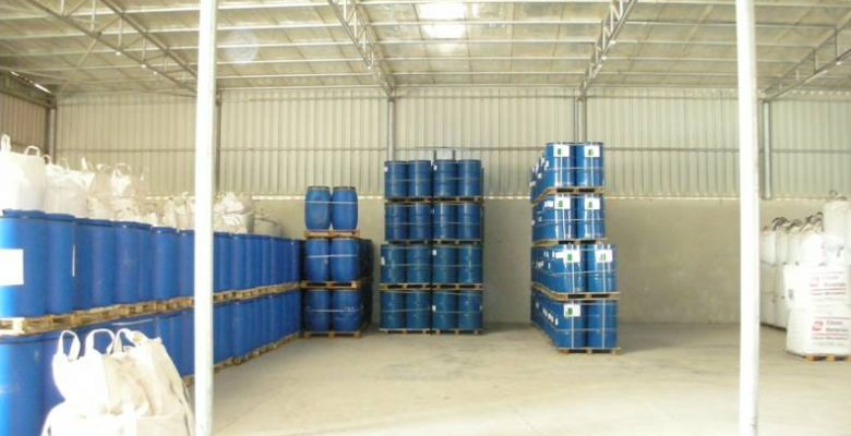 Epoxy Chemical warehouse