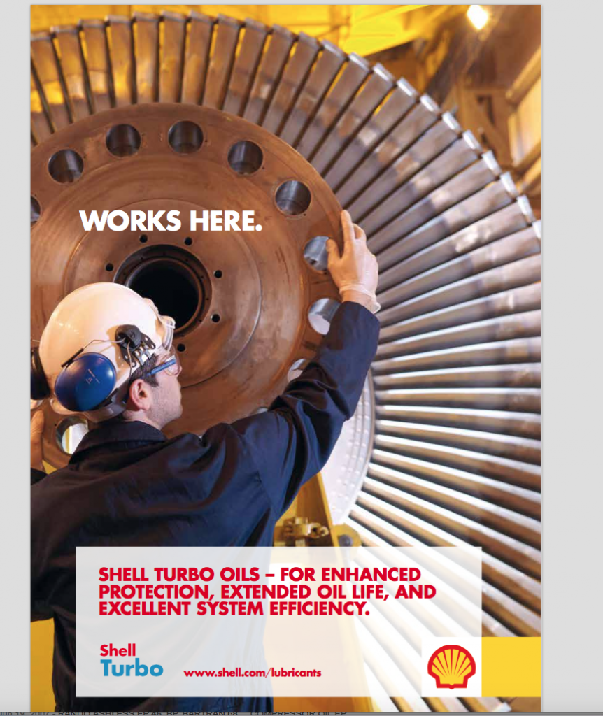 Shell Turbine oil brochure