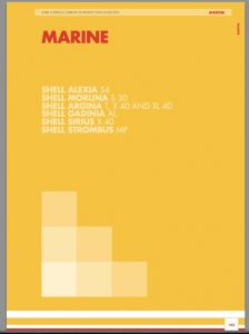 Shell marine lubricants product data guide