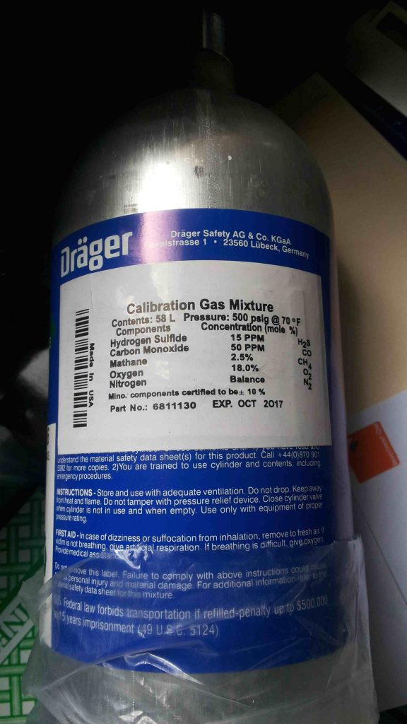 Calibration gas mixture supplier in Nigeria