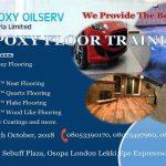 3D Epoxy Floor Training live in lagos