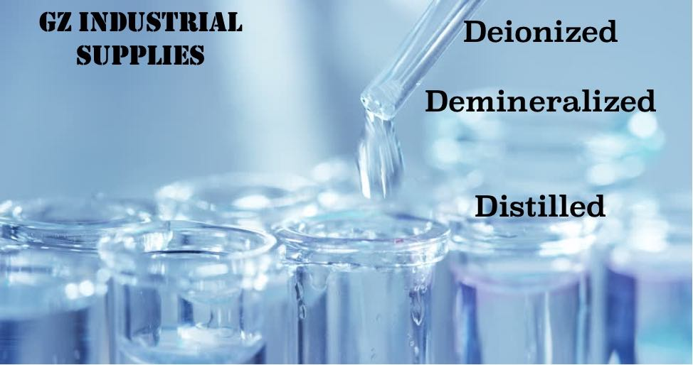 demineralized, deionized and distilled water in Nigeria