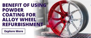 Benefit of using powder coating for wheel refurbishment Banner
