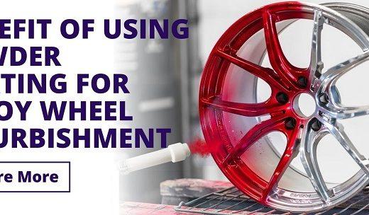 Benefit of using powder coating for wheel refurbishment Banner